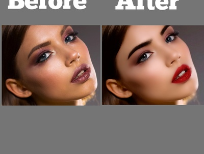 Retouch your images professionally /3 Photo