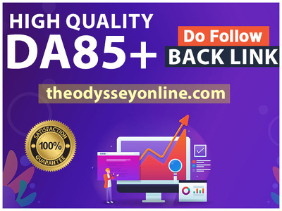 DA 85+ High Quality Guest Post theodysseyonline.com