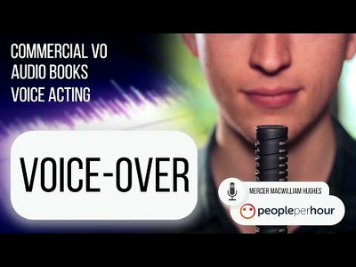 Record HQ English Voice-Over and add to your footage