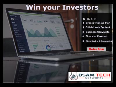 Prepare a Complete Investor ready Business Plan