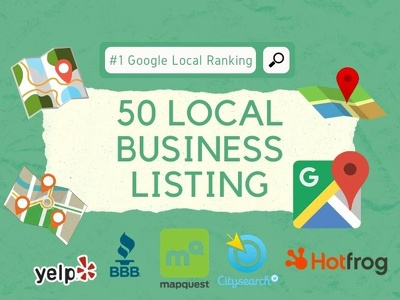 50 local business listing to improve google ranking