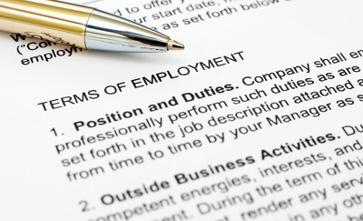 Provide a standard editable employment contract template