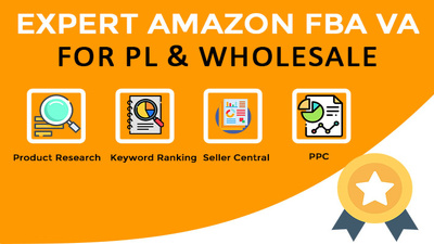 Be your Amazon FBA Private Label Virtual Assistant