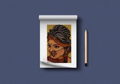 Create Customized Miniature (Small Sized) Portrait Sketch