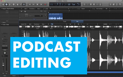 Edit & mix audio for your podcast or e learning course