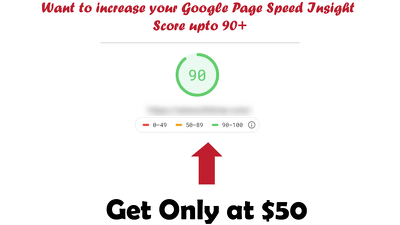 Make your google page speed up 90+ score
