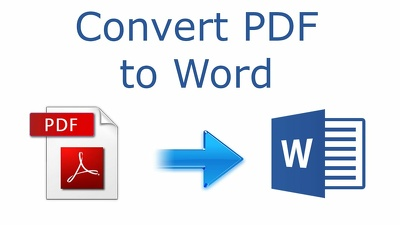 PDF 20 pages to word or Excel files within 12 hour