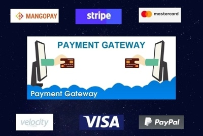Integrate and customize payment gateway on websites and apps
