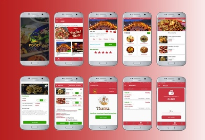 Food deliver  app like Uber , Zomato