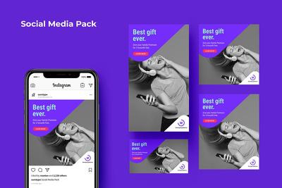 Design 8 creative social media graphics or google banner ad