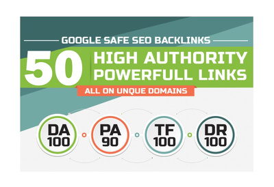 Do 50 Unique PR10 SEO Backlinks on DA100 Websites
