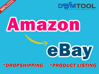 Do best Amazon to eBay Dropshipping and Listing