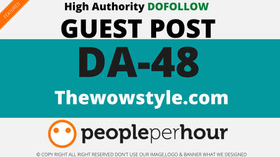 publish a Guest Post on Thewowstyle - Thewowstyle.com - DA48