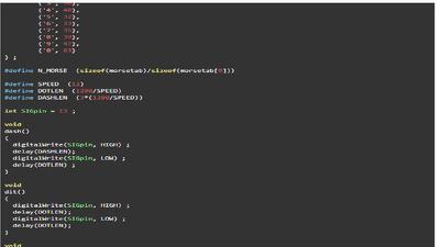 Generate microcontroller code