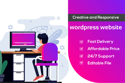 Design a 5 pages WordPress website for your business or blog
