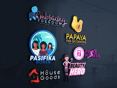 Design Bespoke Logo+Unlimited Revision+Multiple Concepts+Artwork