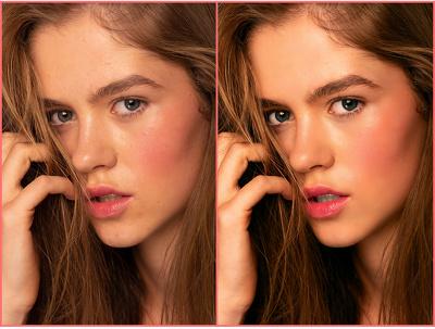 Professionally high end skin retouching & photo editing 2 pics**