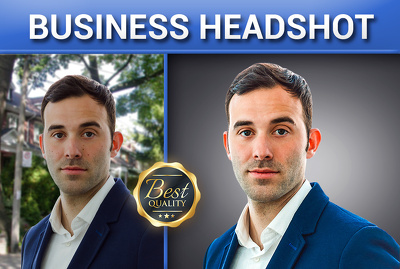 bUSINESS HEADSHOT -  professional retouching
