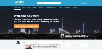Create social engine website
