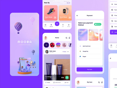 create beautiful ui ux design for your mobile app