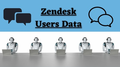 get Zendesk Users Database (2900 leads)