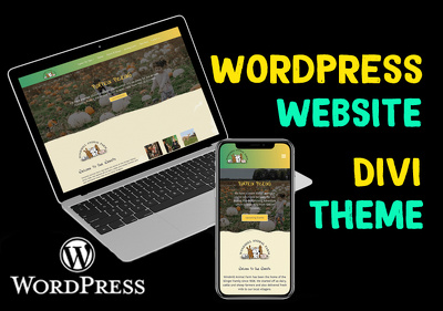Design a fully responsive WordPress website with Divi theme