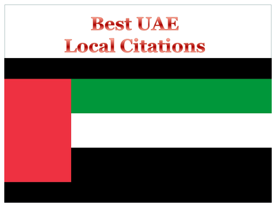 Will create 40 best UAE local citations