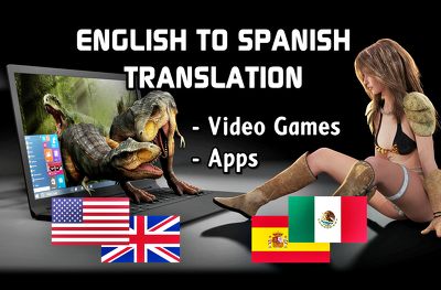 Translate or localize your game or app from English to Spanish