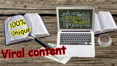 Write viral content articles for your blog