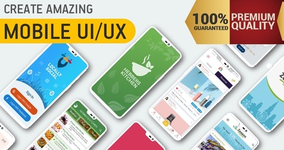 Design UI & UX for android and IOS application