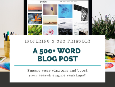 write a 500+ words blog post for better search engine results