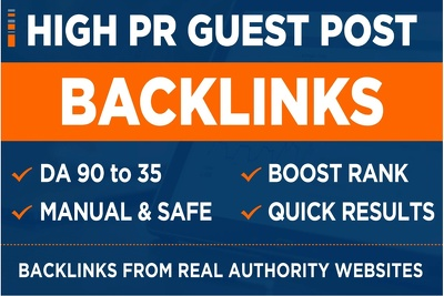 Guest post on high da websites with dofollow backlinks