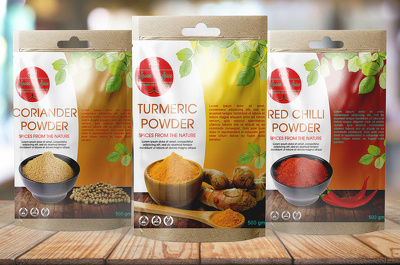 Design eye catching food product package and label, box or pouch