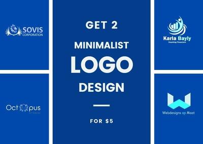 Design minimalist logo design
