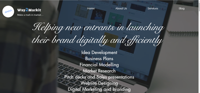 Create a website for your business in 1 day.