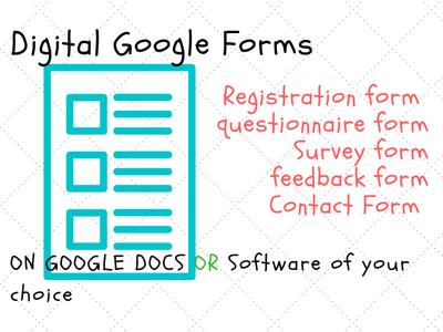 Create best digital Google form