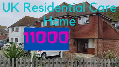 Provide 11000 UK Residential Care Home data