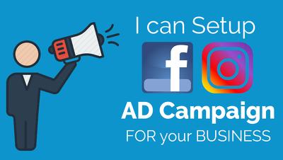 Run facebook & Instgram ads campaign