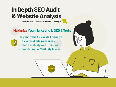 SEO Audit Website or ecommerce store to improve ranking & SEO