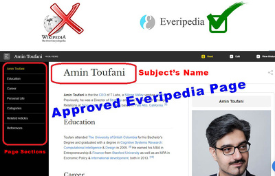 Publish an approved Everipedia Wiki Page