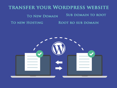 Transfer your Wordpress website to a new host OR to new domain