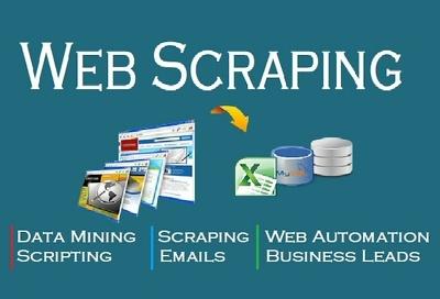 Do web scraping (max Records 500)