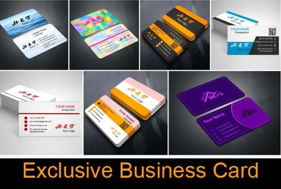 Business card ।। Exclusive & Simple Design ।। Free Sample