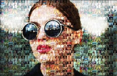 Make a picture from a lot of pictures ( Mosaic Photo )