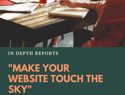 Provide Expert SEO Reports OF Any 6 Websites