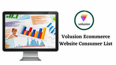 get Volusion Ecommerce Website Consumer List  (720 Leads)