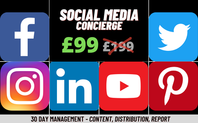 Be your 24/7 social media assistant and manage 6 profiles