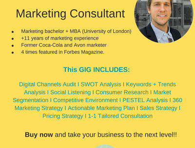 Create your 360 marketing strategy and marketing plan