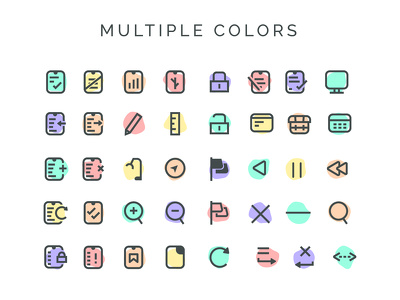 Design a set of 10 custom icons