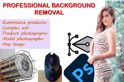 Remove background professionally in any product.